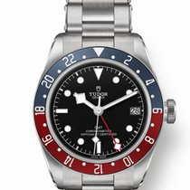 Tudor Black Bay GMT Steel 41mm Black No numerals United States of America, New Jersey, Totowa