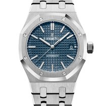 Audemars Piguet Royal Oak Selfwinding Сталь 37mm Синий Без цифр
