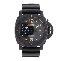 Panerai Luminor Submersible 1950 3 Days Automatic Carbon 47mm Black Arabic numerals United Kingdom, LE1 6DN
