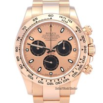Rolex Rose gold Automatic Pink No numerals 40mm pre-owned Daytona