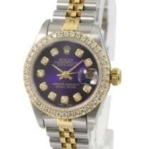 Rolex Lady-Datejust Steel 26mm Purple No numerals United States of America, California, Sherman Oaks