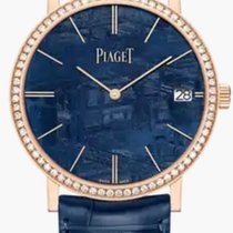 Piaget Altiplano Oro rosa 40mm Azul Sin cifras