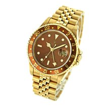 Rolex GMT-Master II Yellow gold 40mm Brown No numerals Singapore, Singapore