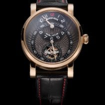 Benzinger Subscription Rose gold 42mm Black Roman numerals