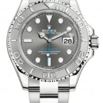 Rolex Yacht-Master 40 Steel 40mm Grey No numerals United States of America, New Jersey, Totowa