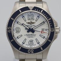 Breitling Superocean 42 Steel 42mm White Arabic numerals
