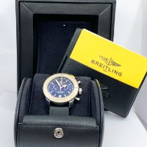 Breitling Superocean Héritage Chronograph Gold/Steel 44mm Black No numerals