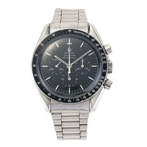 Omega Speedmaster Professional Moonwatch pre-owned 42mm Black Chronograph Tourbillon Steel
