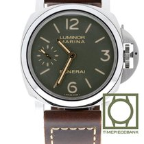Panerai Luminor Marina 8 Days PAM00911 Zeer goed Staal 44mm Handopwind
