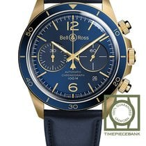 Bell & Ross BR V2 Bronze 41mm Blue Arabic numerals