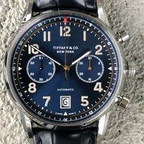 Tiffany Ατσάλι 42mm Αυτόματη Tiffany & Co Chronograph CT60 μεταχειρισμένο