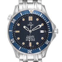 Omega Seamaster Diver 300 M Acero 41mm Azul
