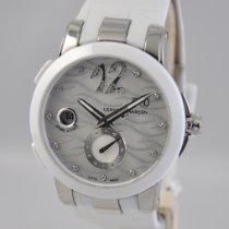 Ulysse Nardin Steel Automatic Mother of pearl 40mm new Executive Dual Time Lady