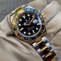 Rolex GMT-Master II Gold/Steel 40mm Black No numerals United Kingdom, HAYES