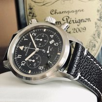 IWC Pilot Chronograph Steel 36mm Black United Kingdom, Norwich