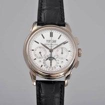 Patek Philippe Perpetual Calendar Chronograph Witgoud 41mm Zilver