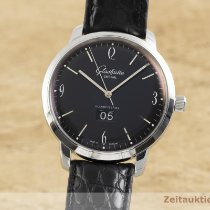 Glashütte Original Sixties Panorama Date Acier 42.5mm Noir