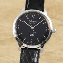 Glashütte Original Sixties Panorama Date Steel 42.5mm Black