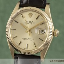Rolex Oyster Perpetual Date 34mm Or