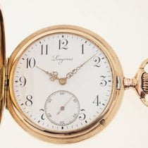 Longines Red gold Manual winding White pre-owned