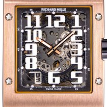 Richard Mille RM 016 Oro rosa 38mm Transparente Arábigos