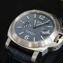 Panerai Luminor Staal 44mm Blauw