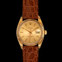Rolex Oyster Perpetual Date Yellow gold Champagne