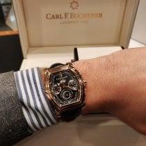Carl F. Bucherer новые Автоподзавод Малый секундный циферблат Хронометр Индикатор резерва хода 39mm Pозовое золото Сапфировое стекло