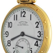 Hamilton Railroad Yellow gold Arabic numerals United States of America, Texas, Dallas