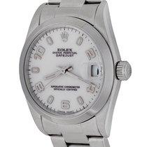 Rolex Lady-Datejust Acero 30mm Blanco Arábigos