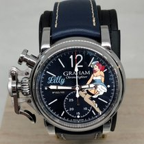 格林汉姆 Chronofighter Vintage Nose Art Lilly Limited Edition 全新 钢 44mm 自动上弦