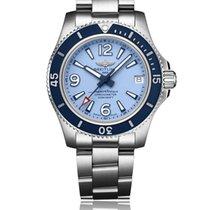 Breitling Superocean II 36 Steel 36mm Blue Arabic numerals