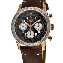 Breitling Navitimer Rose gold Arabic numerals United States of America, New York, Brooklyn