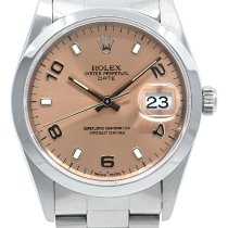 Rolex 115200 Acier 1997 Oyster Perpetual Date 34mm occasion France, Lyon