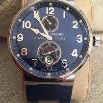 Ulysse Nardin Marine Chronometer 41mm Сталь 41mm Синий