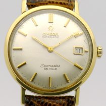 Omega Seamaster DeVille Good Yellow gold Automatic
