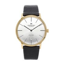 Hamilton Intra-Matic Yellow gold 42mm Grey No numerals United States of America, Pennsylvania, Bala Cynwyd