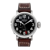 Zenith Pilot Type 20 GMT Steel 48mm Black Arabic numerals United States of America, Pennsylvania, Bala Cynwyd