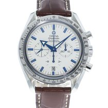 Omega Speedmaster Broad Arrow Steel 42mm White United States of America, Georgia, Atlanta