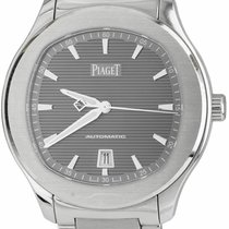 Piaget pre-owned Automatic 42mm Grey Sapphire crystal