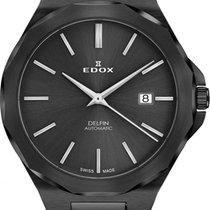 Edox Stahl 42mm 80117 37NM NIG neu
