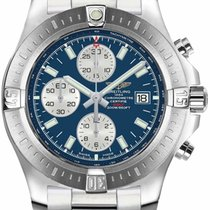 Breitling Colt Chronograph Automatic Steel 44mm Blue United States of America, New York, New York