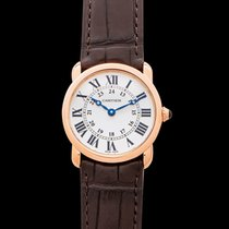 Cartier Ronde Louis Cartier Rose gold 29mm Silver United States of America, California, Burlingame