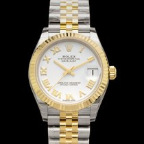 Rolex Steel Automatic White 31mm new Lady-Datejust