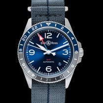 Bell & Ross BR V2 Steel 41mm Blue United States of America, California, Burlingame