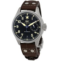 IWC Big Pilot Steel 46.2mm Black Arabic numerals United States of America, Florida, Boca Raton