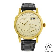 A. Lange & Söhne Yellow gold 38mm Manual winding 101.021 pre-owned United States of America, New York, New York