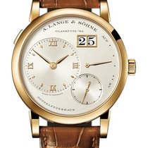 A. Lange & Söhne Lange 1 Yellow gold 38mm Champagne Roman numerals United States of America, New York, New York