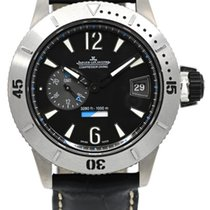 Jaeger-LeCoultre Master Compressor Diving GMT Titane 46mm Noir Arabes France, Lyon