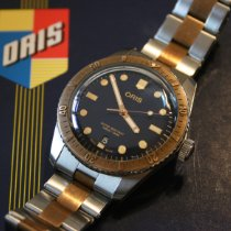 Oris Divers Sixty Five Steel 40mm Blue No numerals United Kingdom, Chesterfield